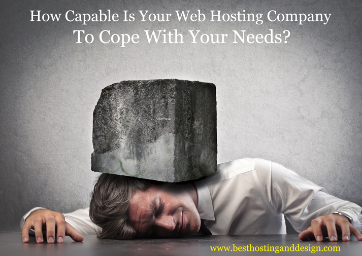 Can Your Web Hosting Company Cope With Your Needs?