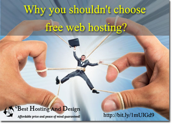 Free web hosting: Why you should not go for it?