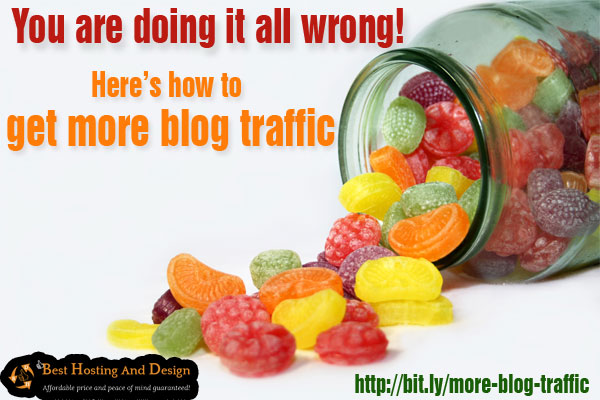 You are doing it all wrong! Here's how to get more blog traffic