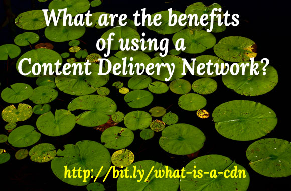 what are the benefits of using a Content Delivery Network?