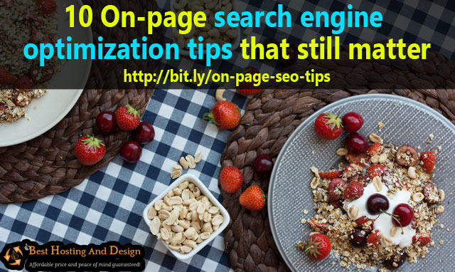 10 On-page search engine optimization tips that still matter