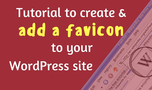 How to create and add a favicon to your WordPress site