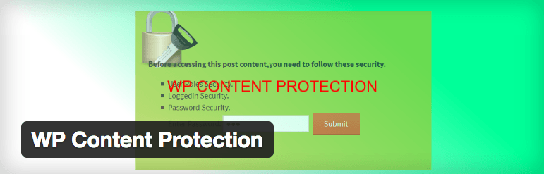 WP Content Protection
