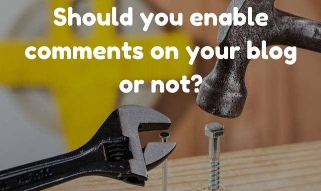 Confused about enabling comments on your blog? Let's discuss