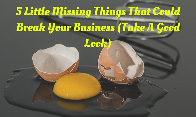 These 5 little things missing in your blog can break your business