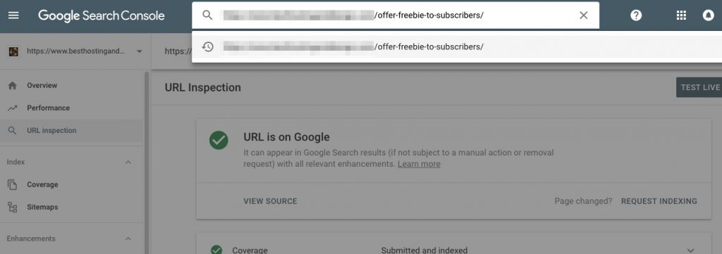 How to force/request Google to re-crawl the pages of your