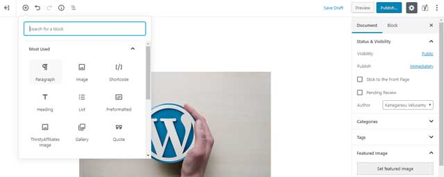 Guide to Updating Your Old WordPress Posts with the All New Gutenberg Block Editor 1