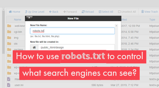 How to Block Search Engines Using robots.txt?