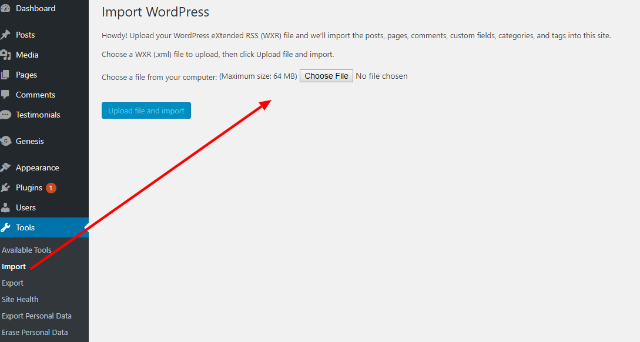Step-by-step guide to move from Squarespace to WordPress 1